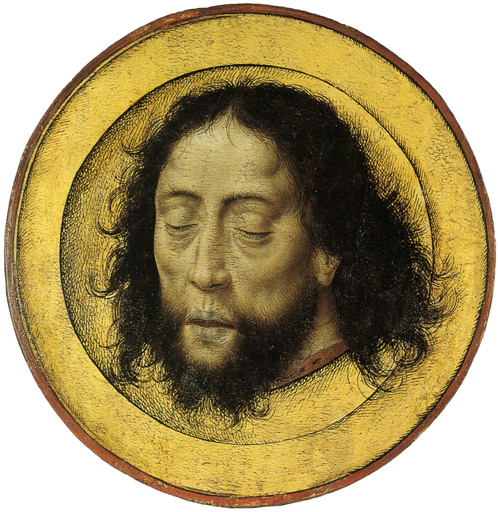 Дирк Баутс. Копия. Голова Иоанна Крестителя. после 15-го века