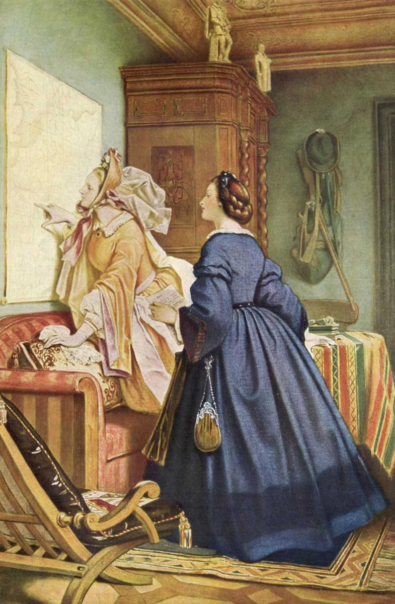 Мориц фон Швинд. В доме художника