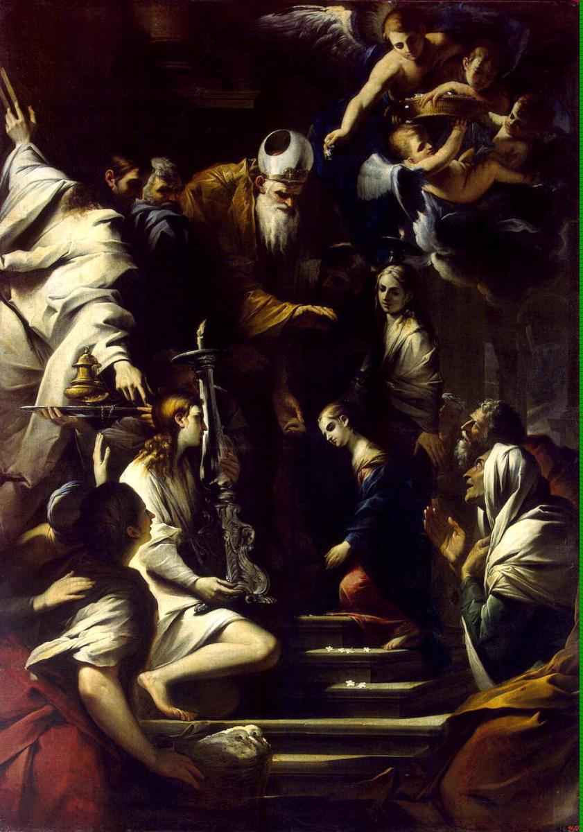 Пьетро Теста. Введение Марии во храм