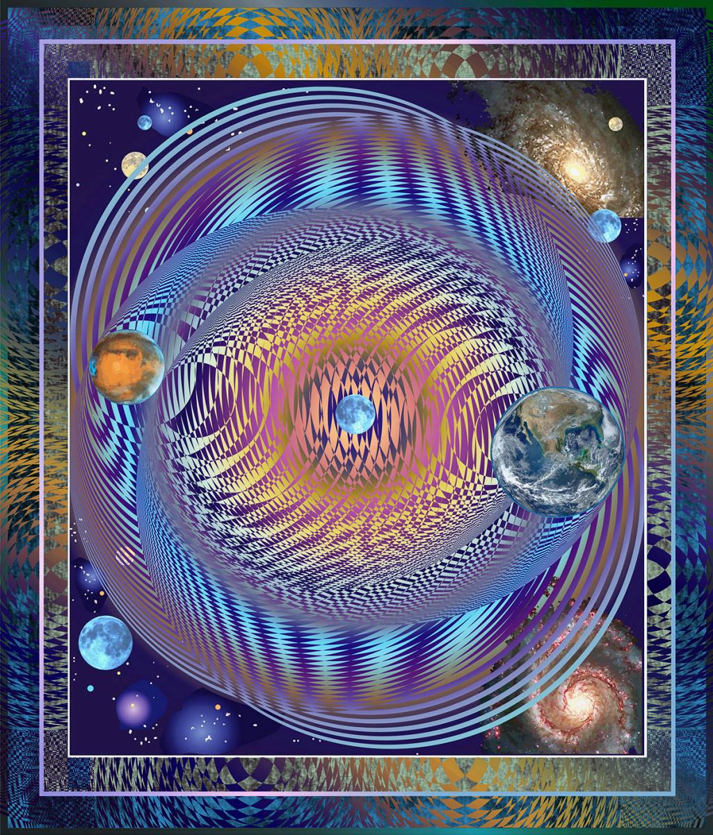 Юрий Николаевич Сафонов (Yury Safonov). Waves of gravitational interference