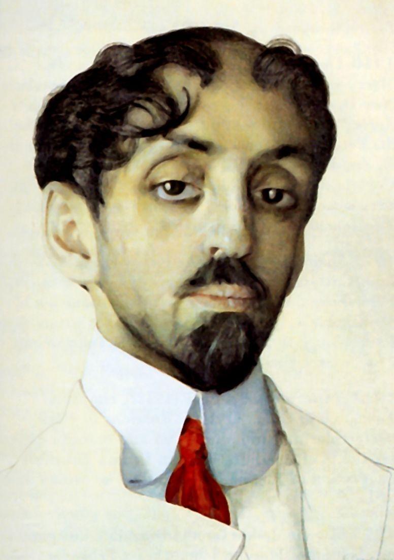 Константин Андреевич Сомов. Портрет Михаила Кузмина