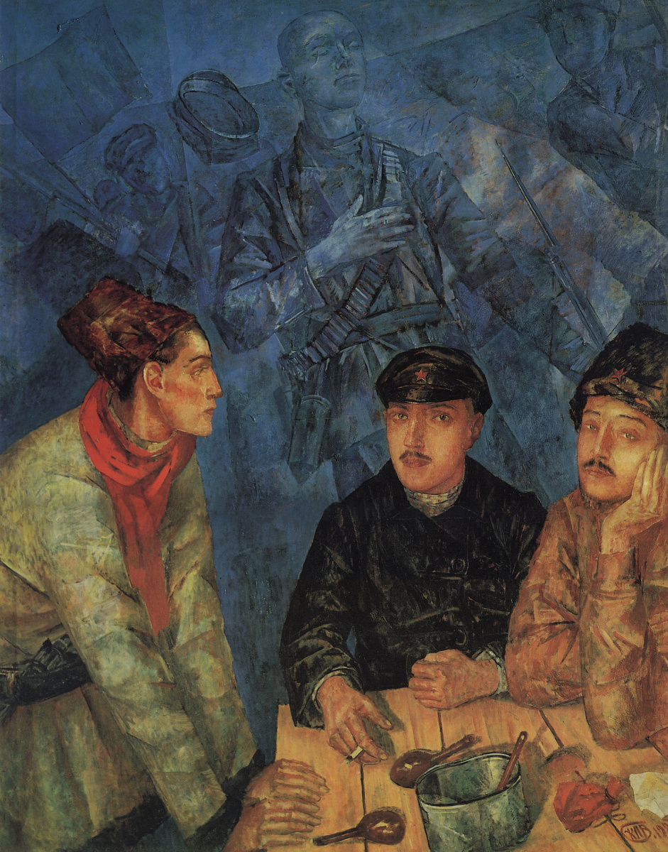 Кузьма Сергеевич Петров-Водкин. После боя