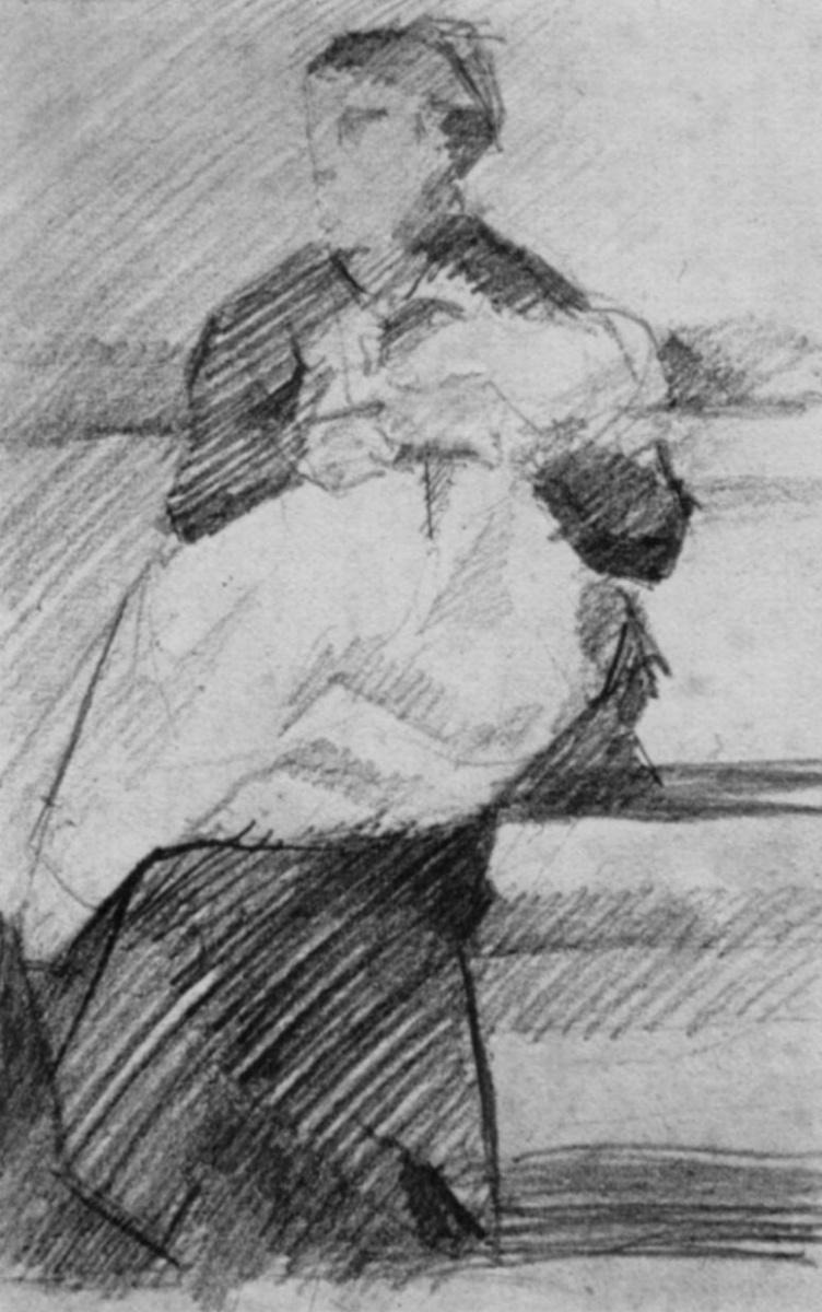Жорж Сёра. Женщина с ребенком
