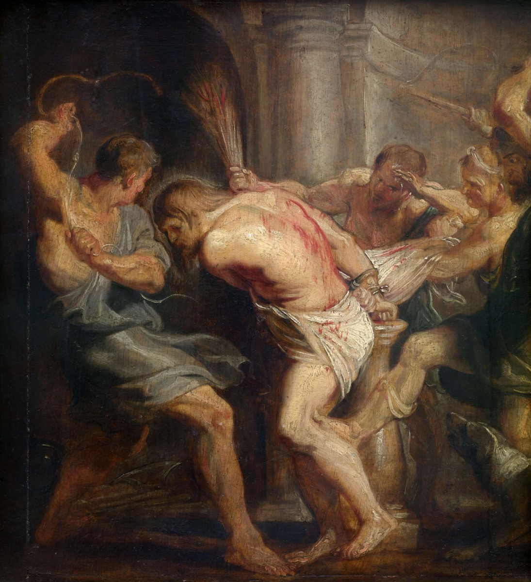Питер Пауль Рубенс. Бичевание Христа