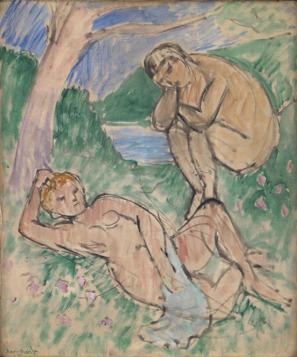 Henri Matisse. Нимфа и фавн
