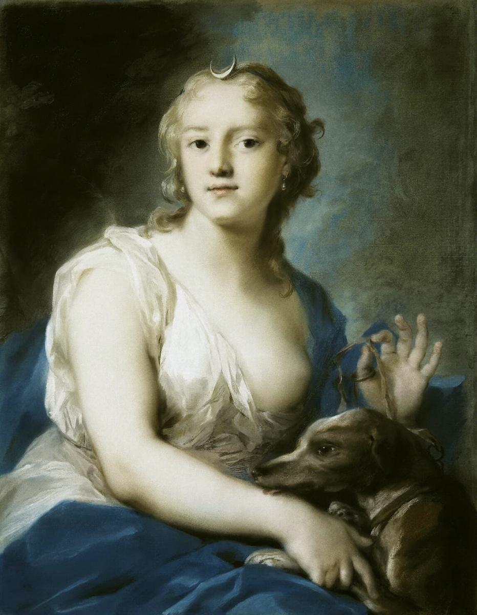 Розальба Каррьера (Каррера). Диана
