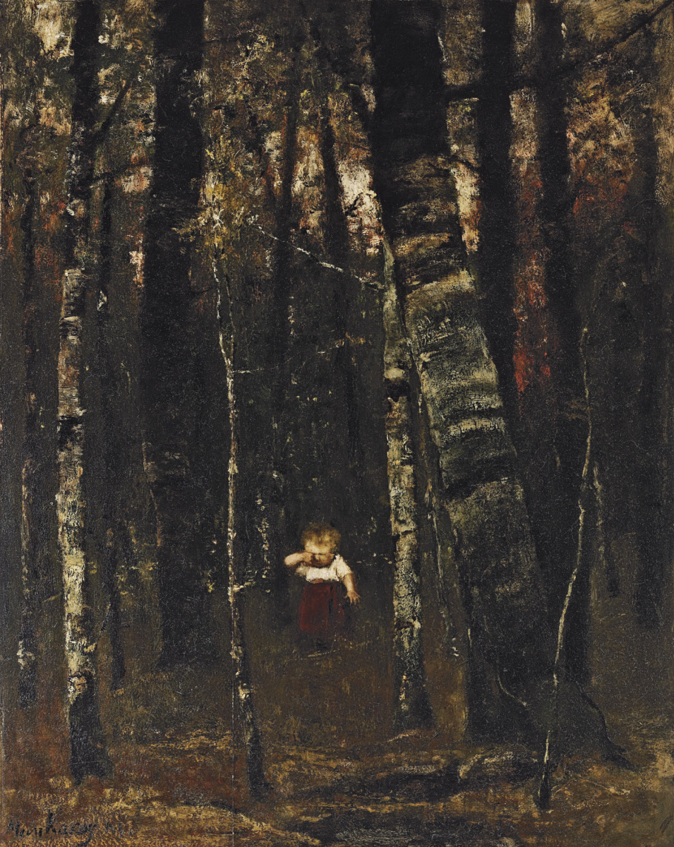 Михай Либ Мункачи. Заблудившийся среди деревьев