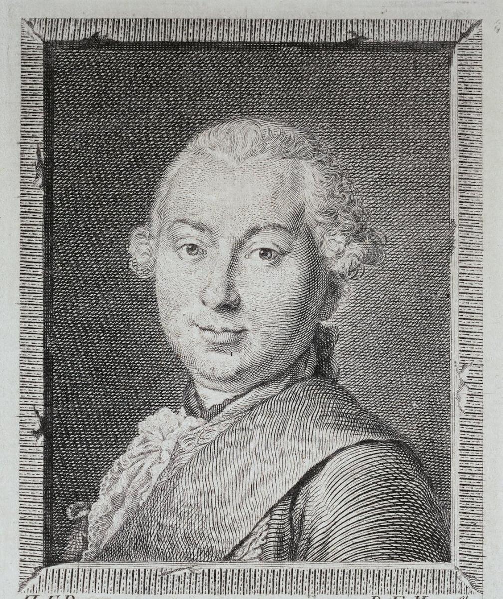Евграф Петрович Чемесов. Портрет графа Ивана Ивановича Шувалова