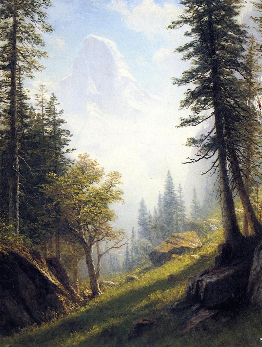 Альберт Бирштадт. Бернские Альпы