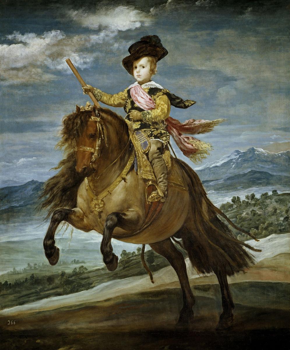 Диего Веласкес. Конный портрет принца Бальтазара Карлоса