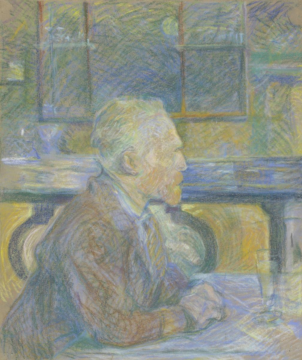 Анри де Тулуз-Лотрек. Портрет Винсента Ван Гога