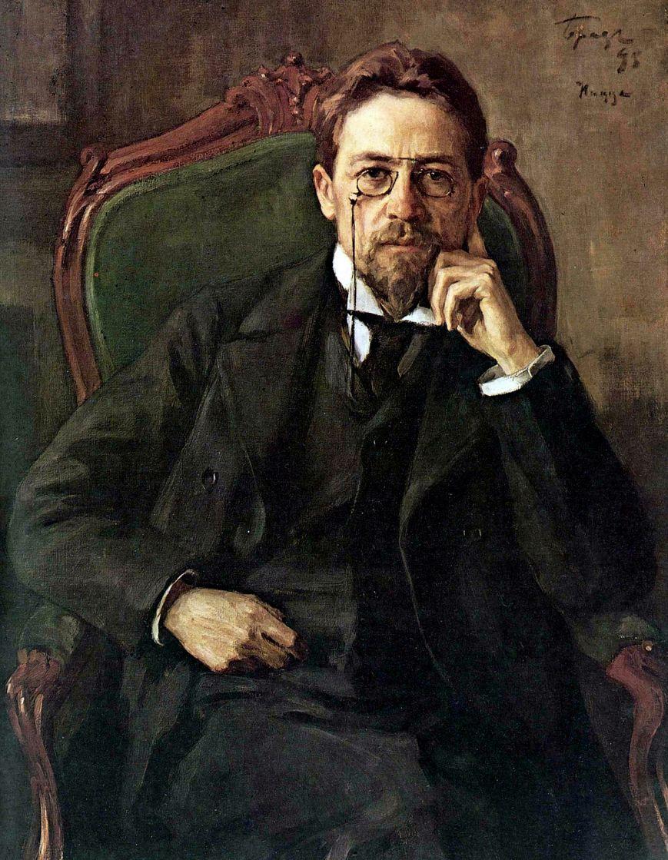 Osip (Joseph) Emmanuilovich Braz. Portrait Of Anton Pavlovich Chekhov