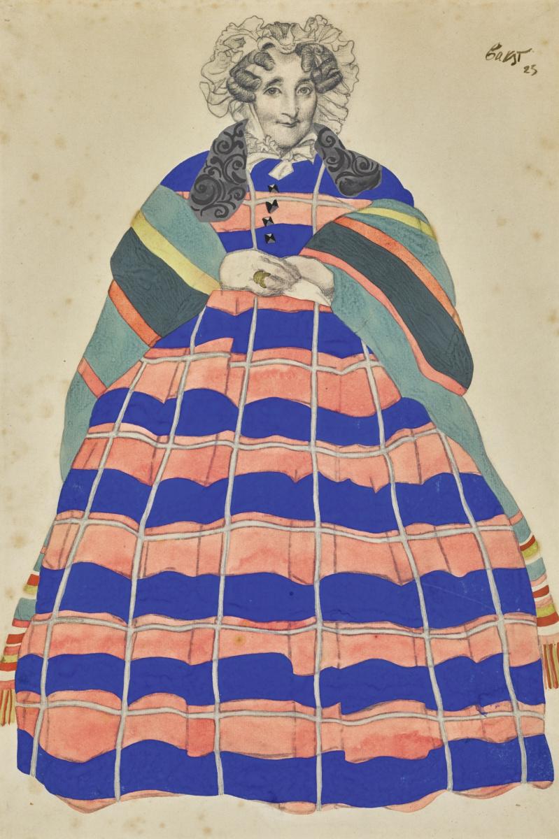 Lev Samoilovich Bakst (Leon Bakst). Costume sorceress
