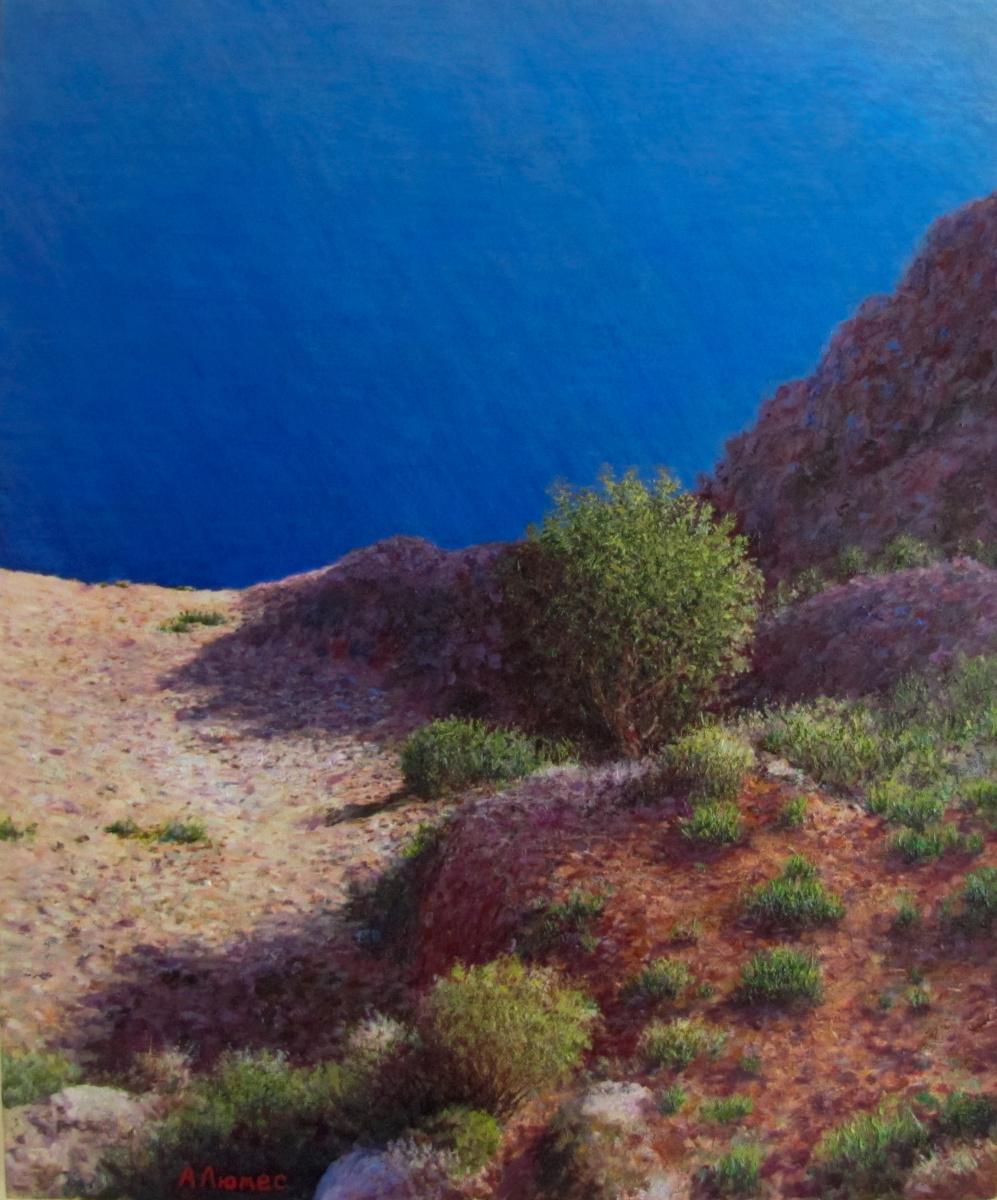Andrew Lumez. Crimean coast