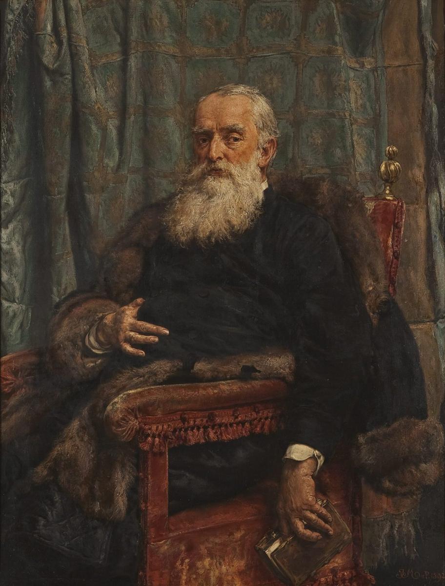 Ян Матейко. Портрет Генриха Краевского