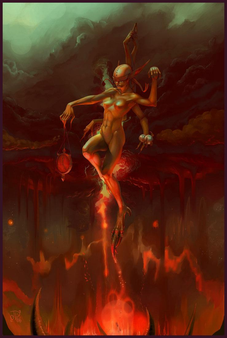 Джелли Охр. Огненный танец
