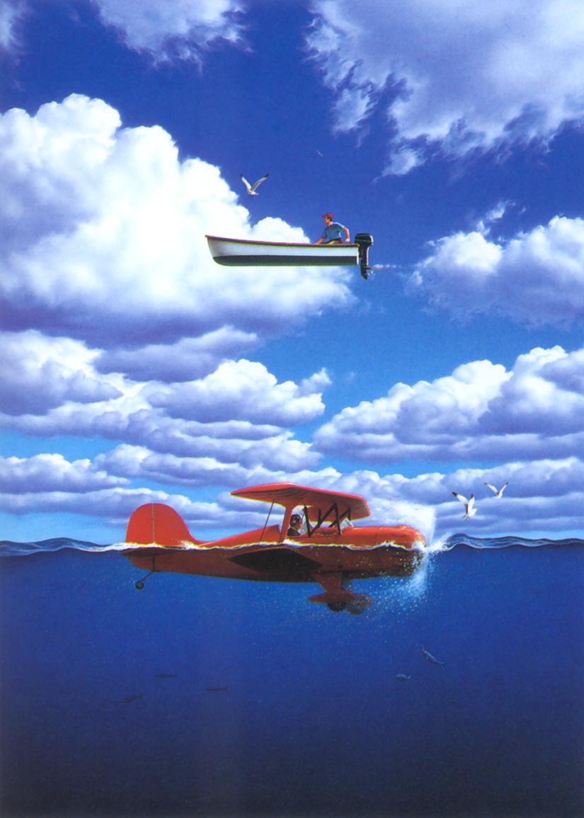 Джерри Лафаро. Голубые облака