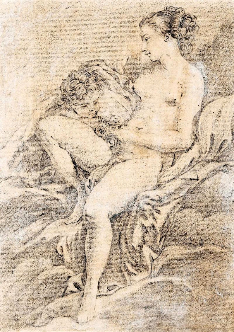 Francois Boucher. Venus and Cupid