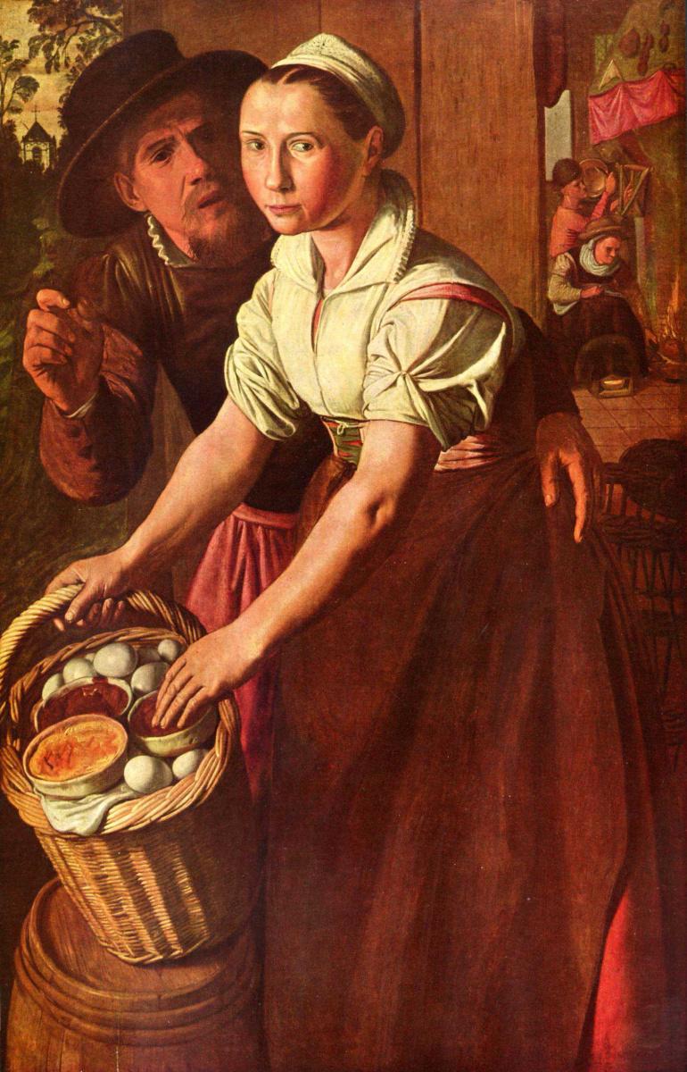 Иоахим Бекелар (Бейкелар). Продавщица яиц