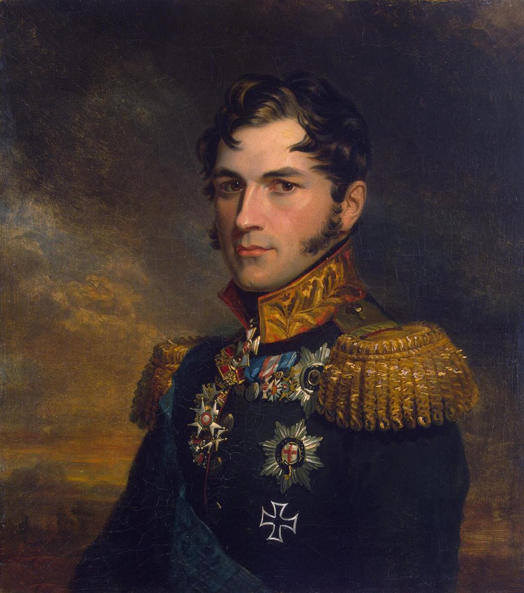 Джордж Доу. Портрет принца Леопольда Саксен-Кобургского