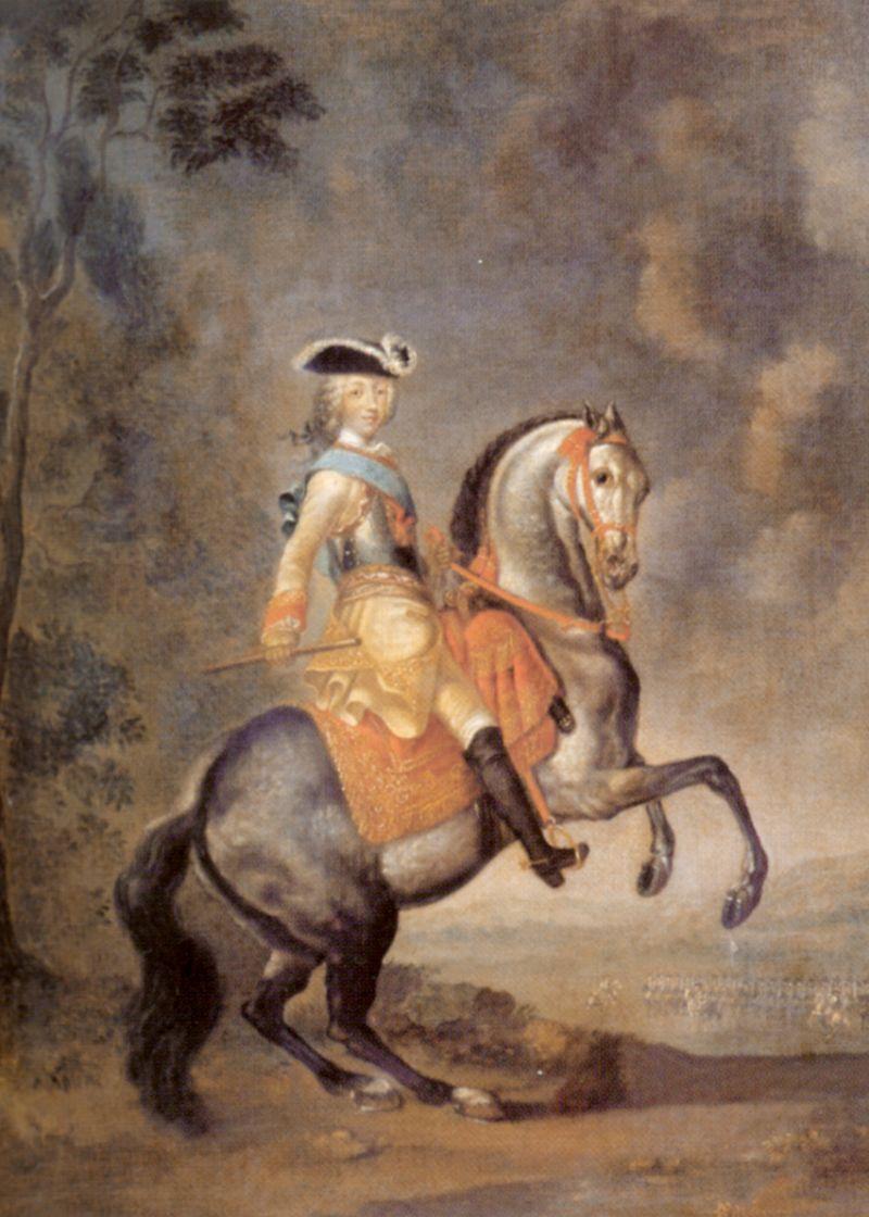 Георг-Христофор Гроот. Конный портрет Петра III