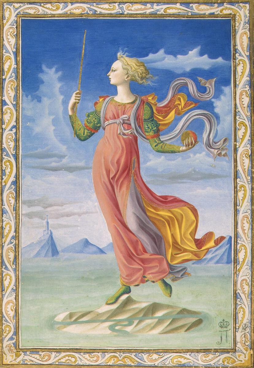 Франческо ди Стефано Пезеллино. Аллегория Рима