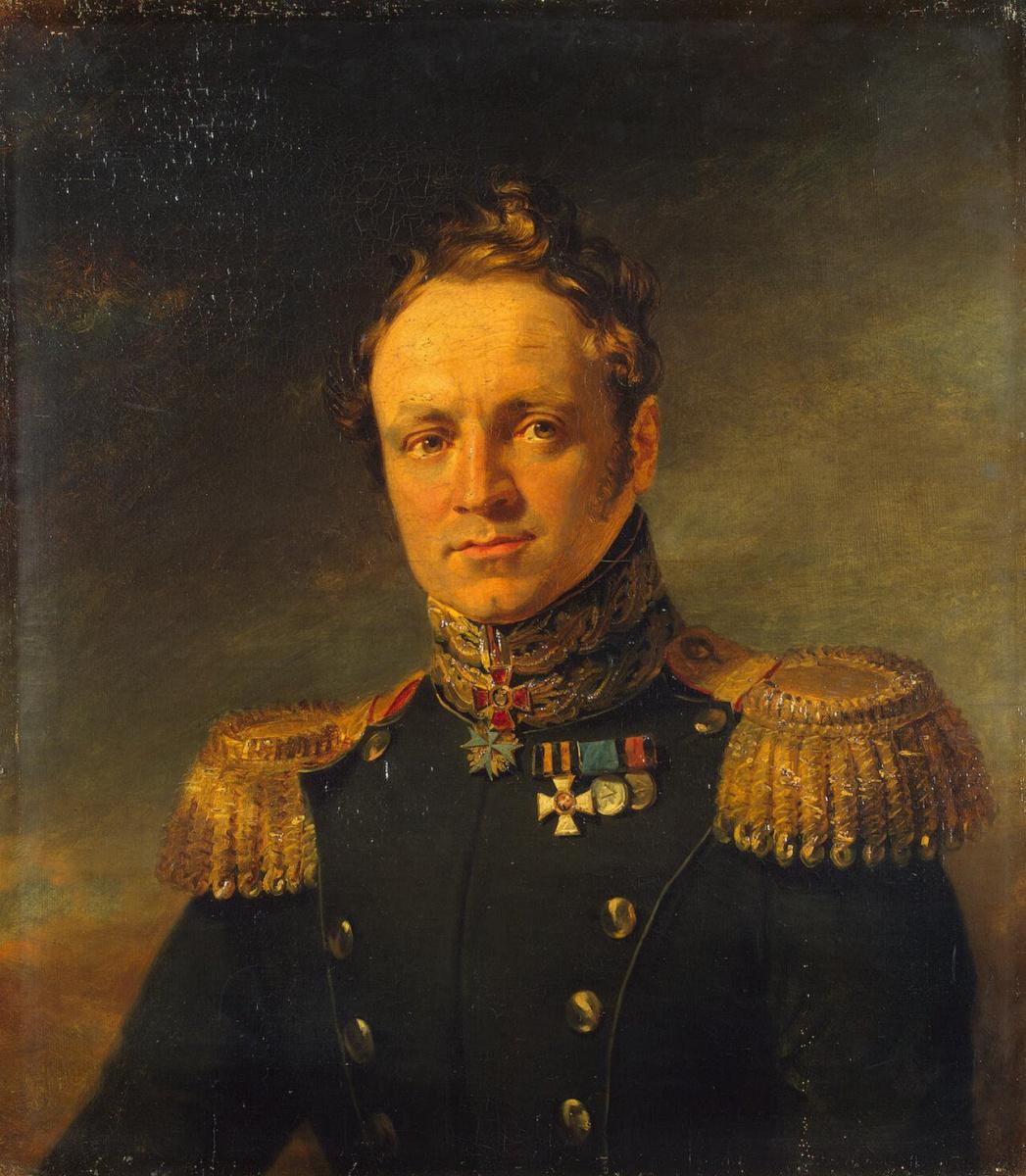 George Dow. Portrait of Evgeny Alexandrovich Golovin