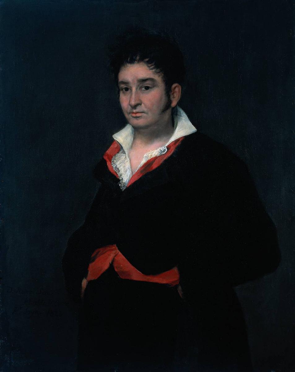 Франсиско Гойя. Портрет дона Рамона Сатуэ