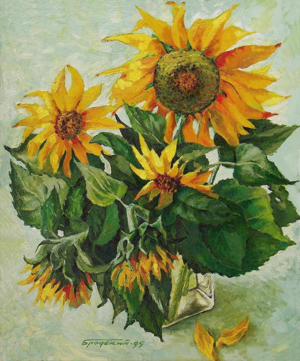 David Shikovich Brodsky. Sunflowers again