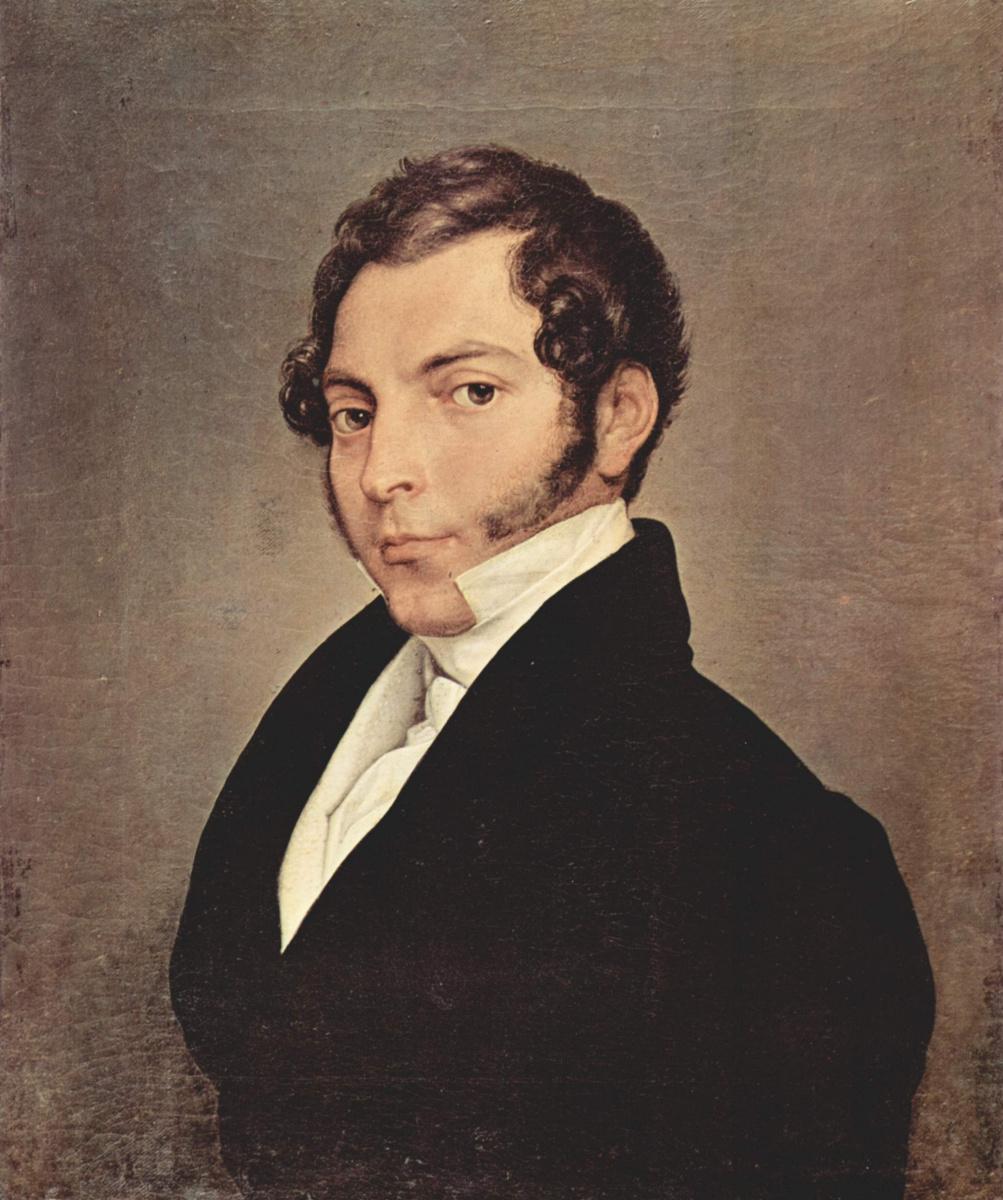 Francesco Ayets. Portrait of Count Ninni