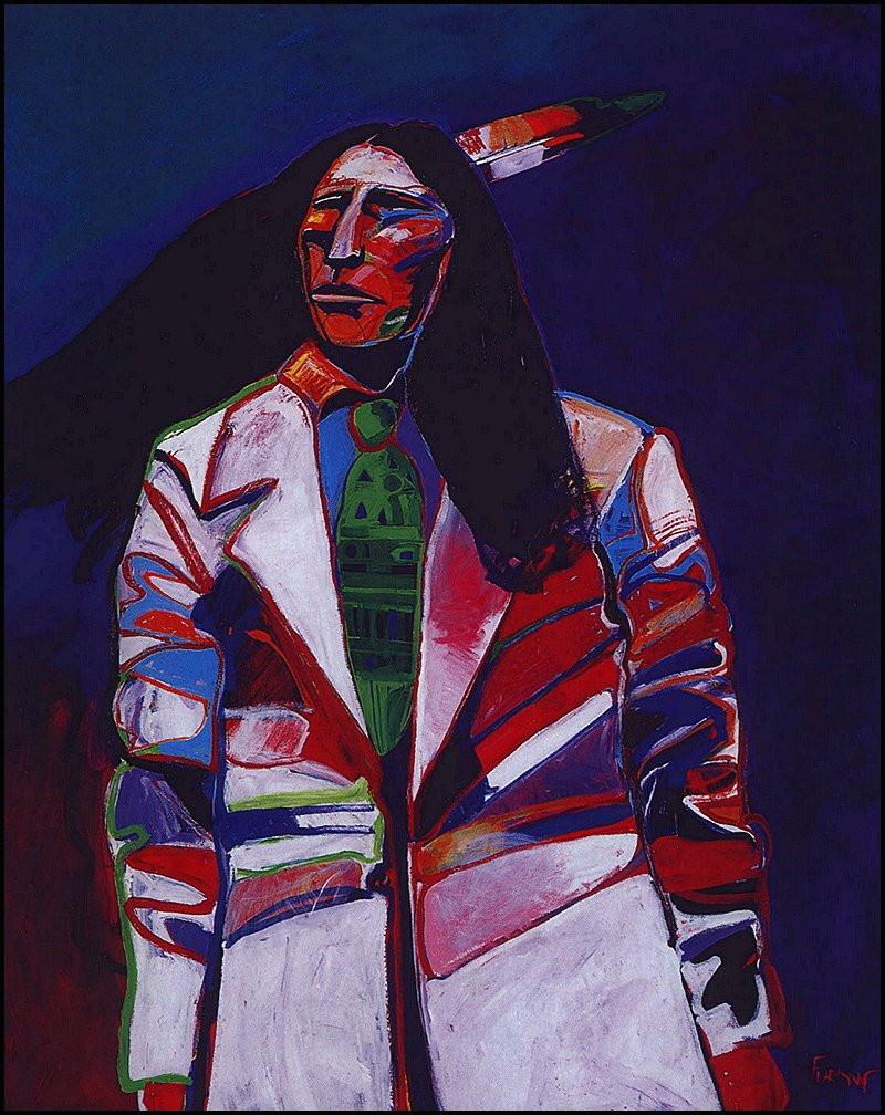Malcolm Ferlow. Native American series Armani