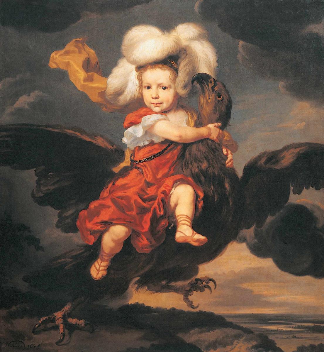 Николас Мас. Похищение Ганимеда