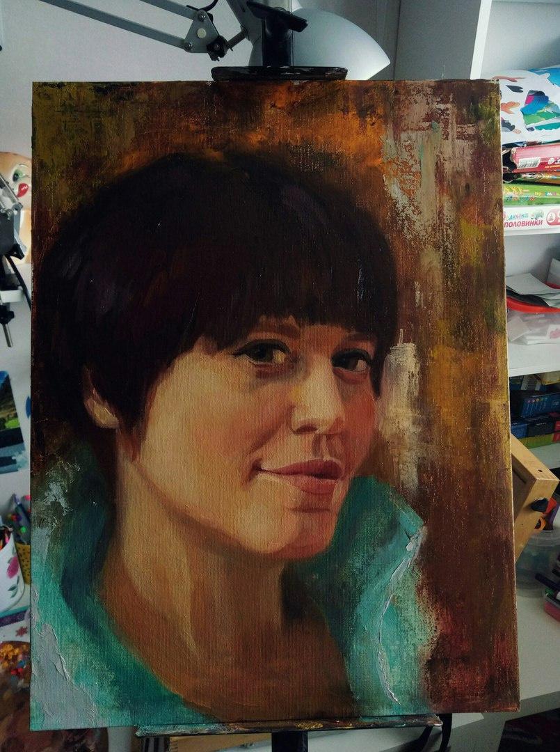 Julia Valerievna Fedotova. Portrait of Lena