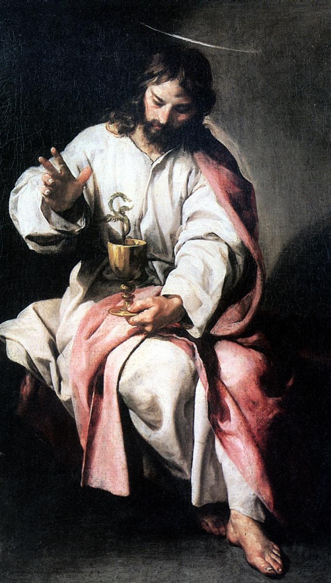 Алонсо Кано. Святой Иоанн Евангелист с чашей яда