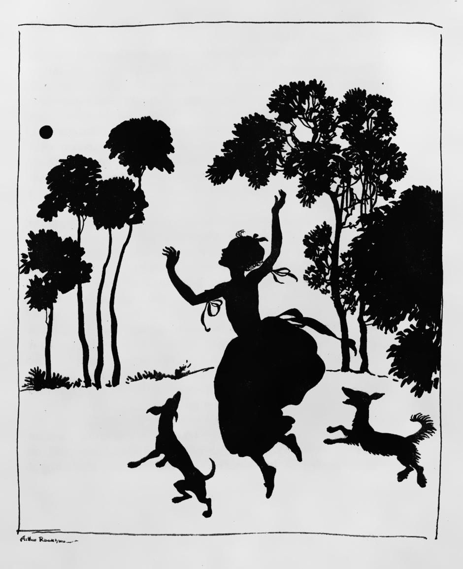 Arthur Rackham. Cinderella