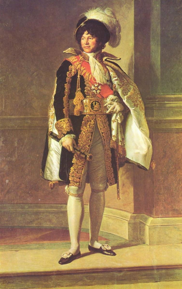 Франсуа Паскаль Симон Жерар. Портрет Иоахима Мюрата