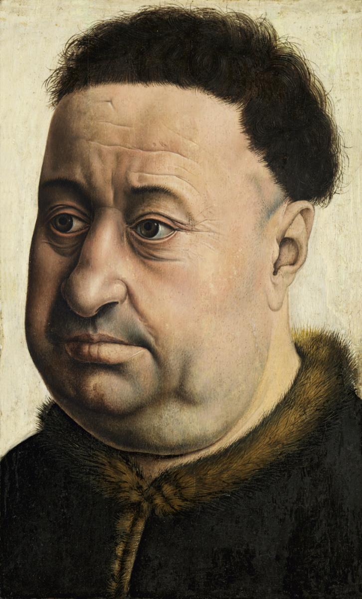 Робер Кампен. Портрет мужчины. Роберт де Масминес