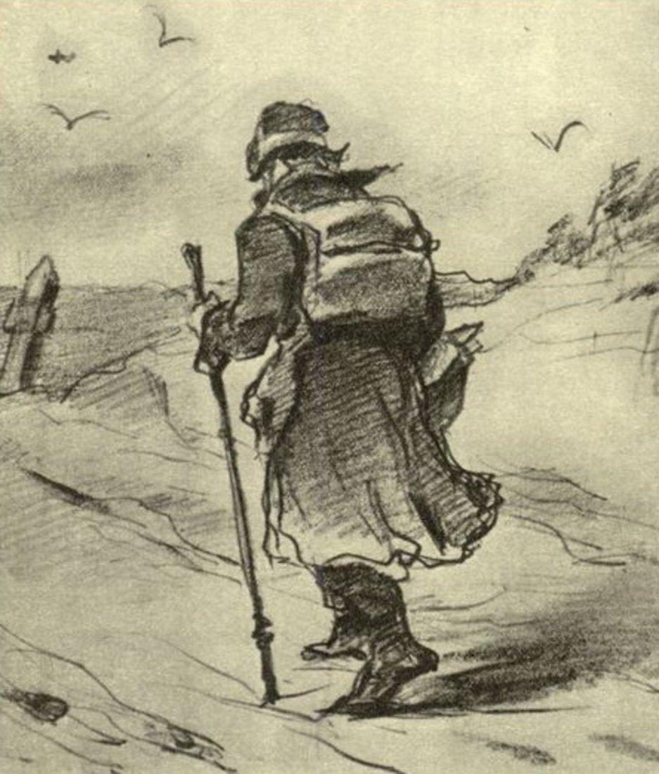 Василий Григорьевич Перов. Путник