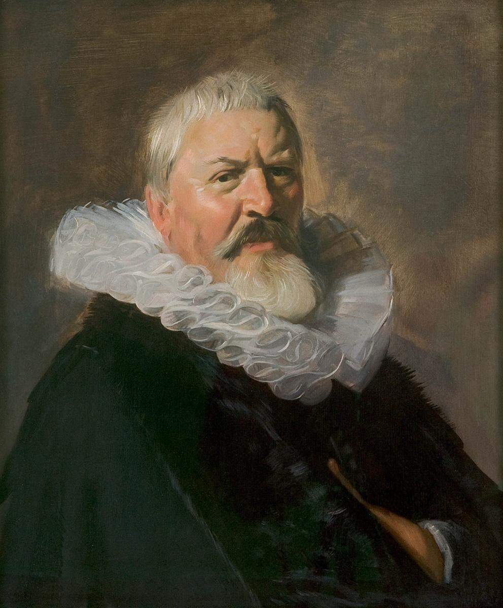 Frans Hals. Portrait of Pieter Jacobsz Olycan