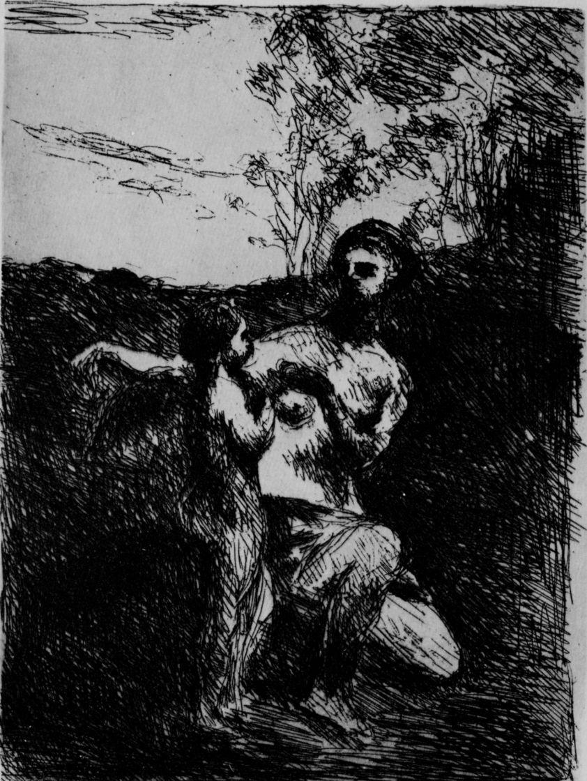 Камиль Коро. Венера подрезает крылья Амуру