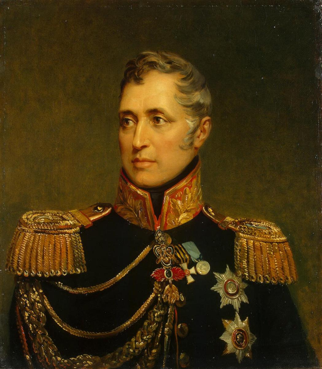 George Dow. Portrait of Karl Osipovich Pozzo di Borgo