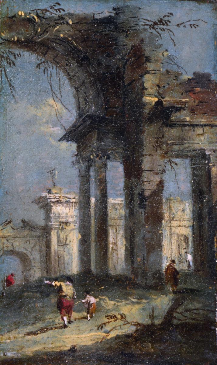 Франческо Гварди. Каприз в руинах