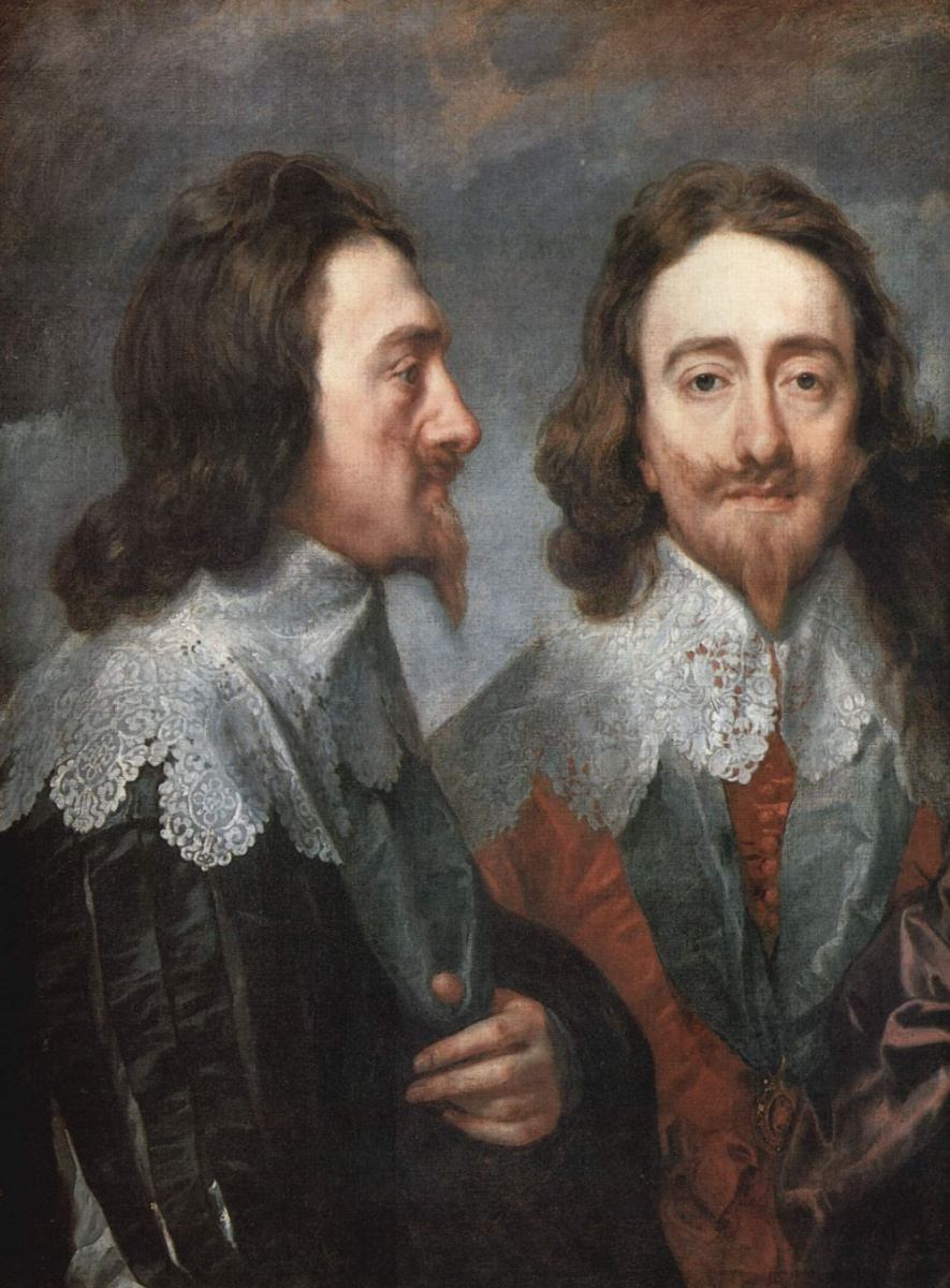 Антонис ван Дейк. Портрет Карла I, короля Англии, фрагмент
