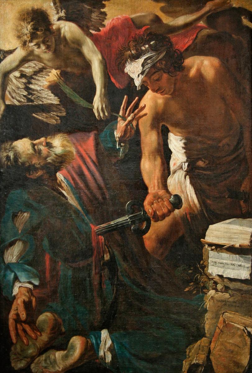 Клод Виньон. Мученичество Святого Матфея
