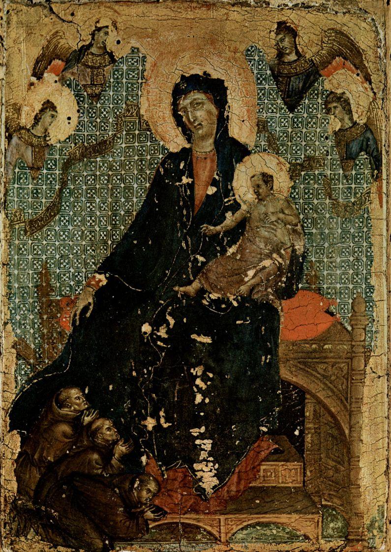 Дуччо ди Буонинсенья. Мадонна францисканцев