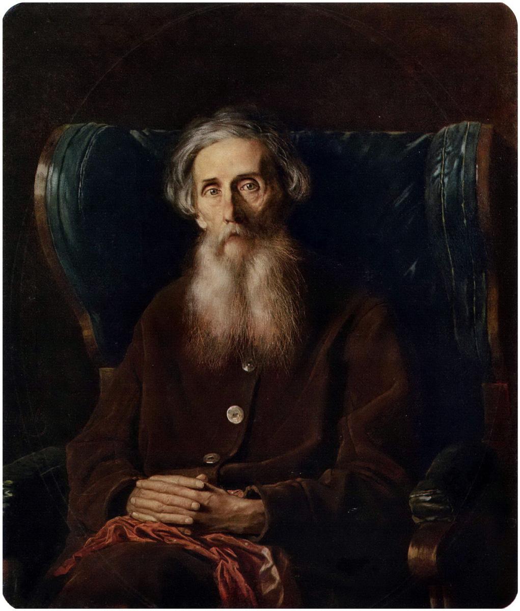 Василий Григорьевич Перов. Портрет писателя Владимира Даля