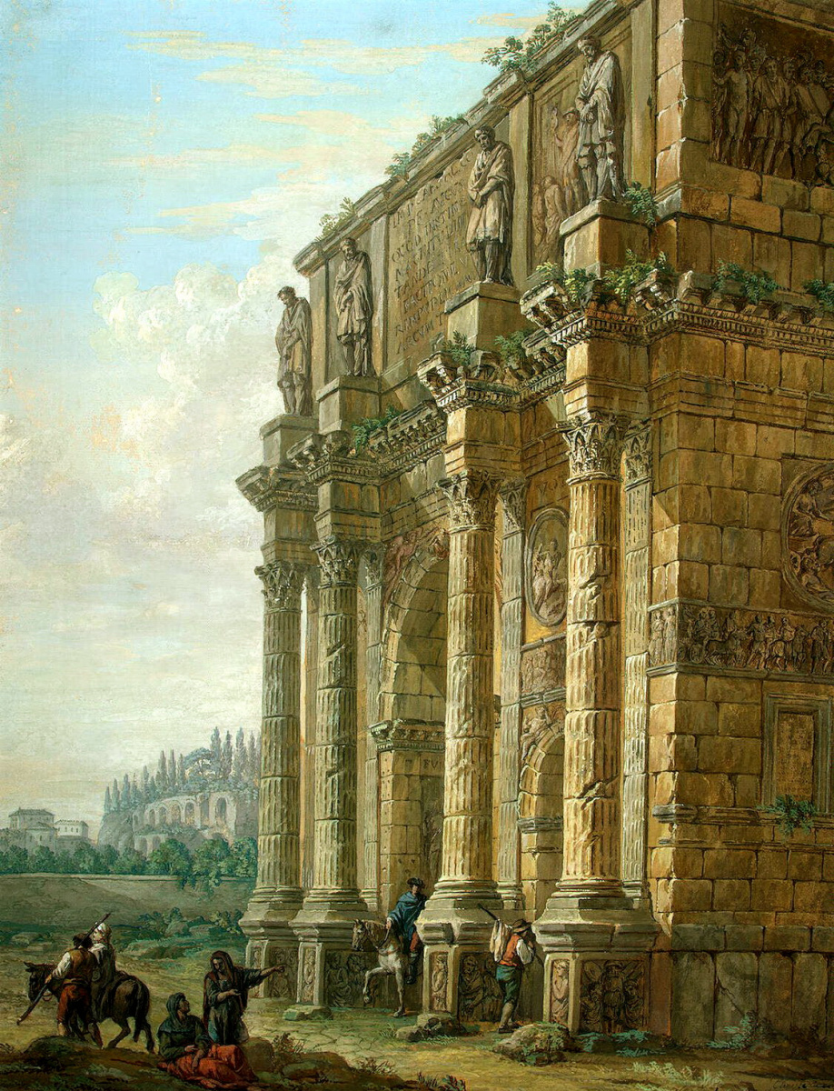 Шарль-Луи Клериссо. Триумфальная арка Константина в Риме