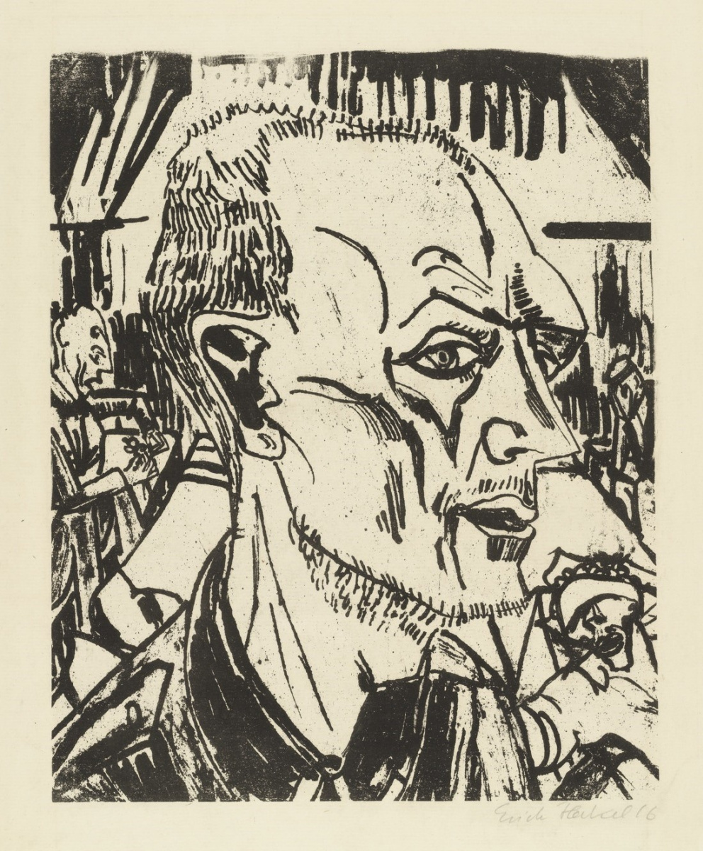 Erich Heckel. Crazy soldier