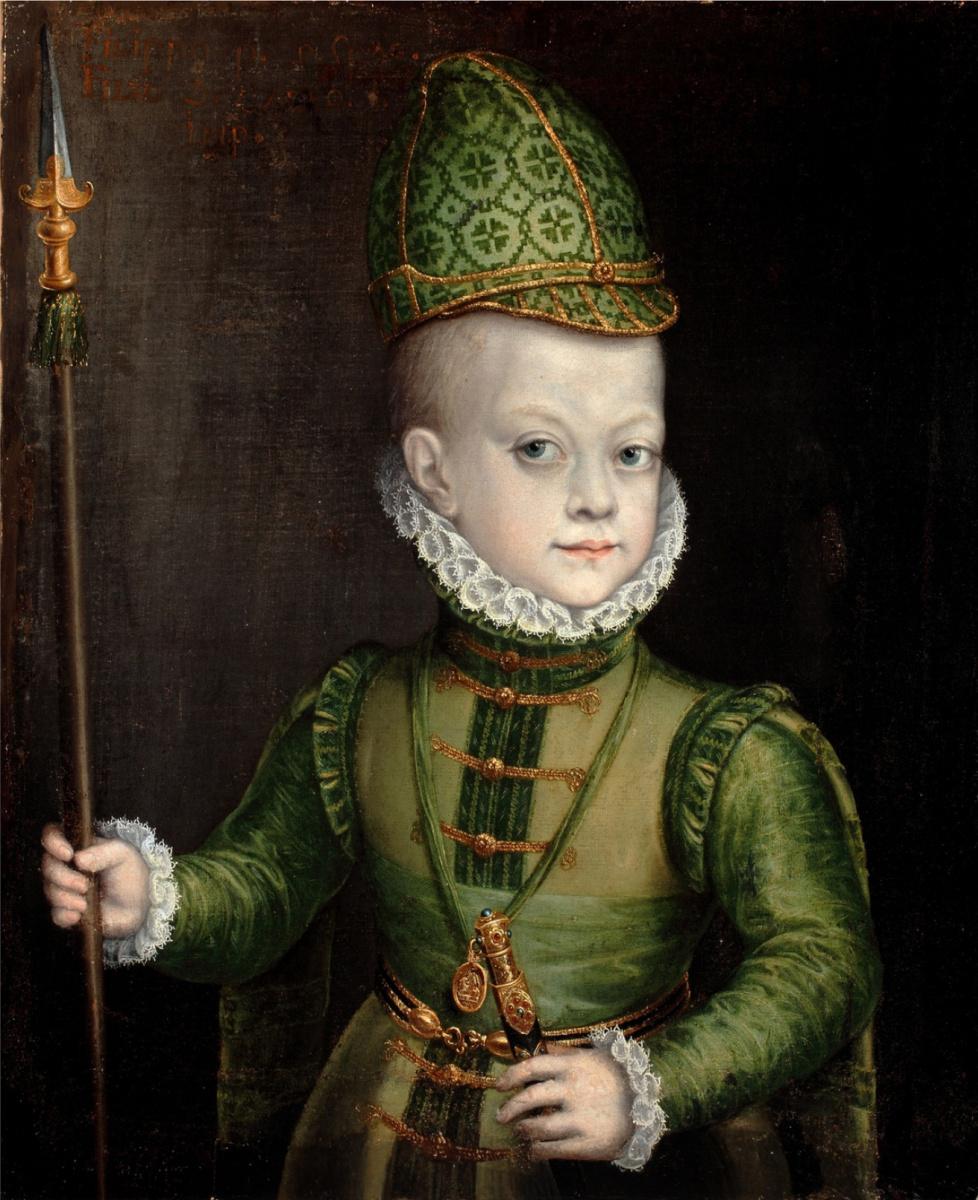Софонисба Ангвиссола. Портрет мальчика в костюме испанского дворянина