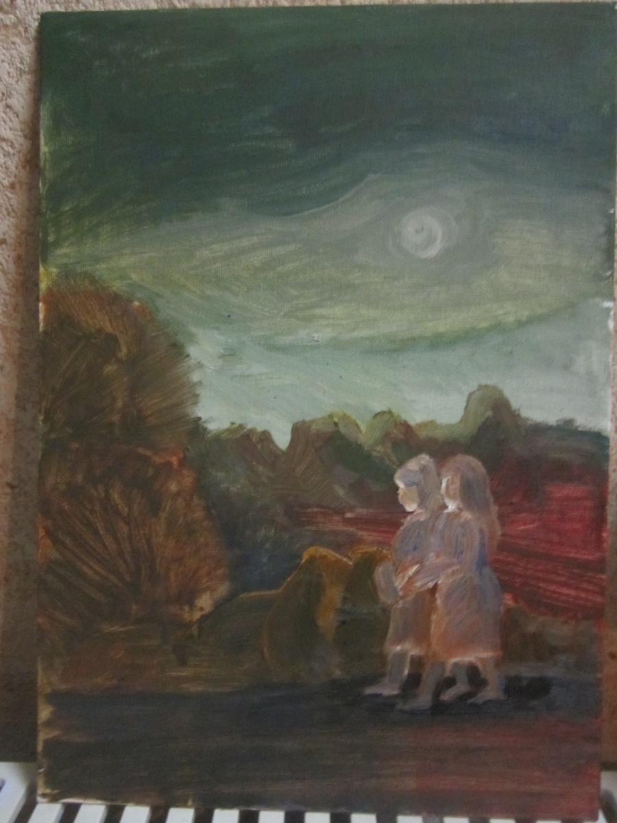 Наталия Пухонина. Осенняя прогулка